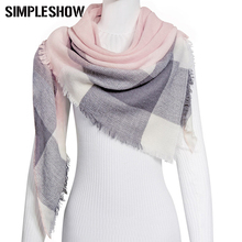 SIMPLESHOW 2017 Winter Scarf For Women Shawls Scarf Women Scarf Warm Girls Scarves Children Winter Blanket Size125*125*180cm