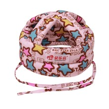 Toddler Baby Boys Girls Safety Hat Anti-collision Protective Helmet Head Adjustable Soft Comfortable Hat 8 Styles
