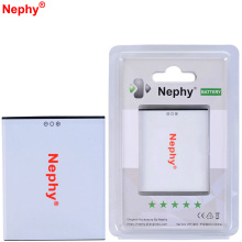 New Original Nephy Battery For THL W100 W100S 3.7V 1800mAh High Quality Cell Phone Batteries With Retail Package Tracking Code