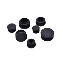 10 Pcs/lot Plastic  Pipe End Blanking Caps Bung Tube Insert Plugs Round 16-35mm