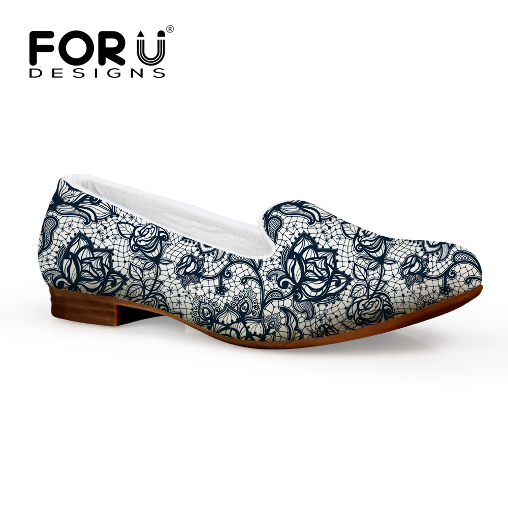 FORUDESIGNS 2017 Spring Women Flats Shoes,Flower Ladies Flat Casual Shoes,Summer Woman mocassin femme Female Luxury Brand Shoes<br><br>Aliexpress