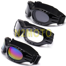 Biker Outdoor Sport Sunglasses Anti-Fog Adjustable Suitable Goggles Glasses Cool Men Women Snowboard Glasses