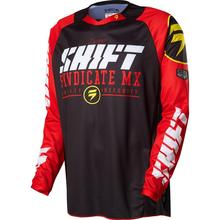 2017 2016 Shift Breathable Road MTB bikecross Dirtbike DH MX ATV Riding Gear Adult Mens Jersey Downhill bike Jersey 5 COLOR