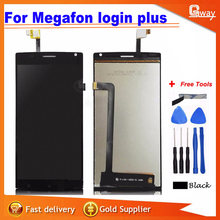For 5.5'' MegaFon Login+MFLoginPh TOPSUN_G5247_A1 Touch screen lcd display screen assembly for Megafon login plus+tools
