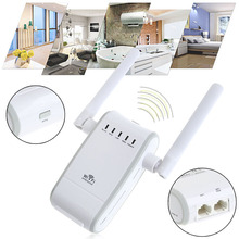 300Mbps WiFi Amplifier Router Wireless Repeater Extender Antenna Signal Booster
