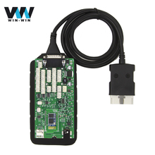 New 5.008 Green Single Board TCS CDP Pro 2015.R3/2014.R2 with keygen VCI Scanner OBD2 Diagnostic New NEC Relays Multi-language(China)