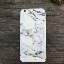 Marble Granite Texture Soft Mobile Skin White Cover Case For iPhone 5/5S 6/6S 6/6S Plus
