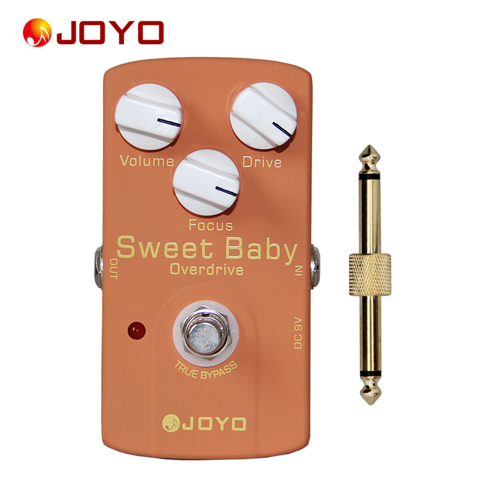 JOYO JF-36 Sweet Baby True Bypass Low-gain Overdrive Pedal Guitar Effects Electric Guitar Pedal<br>