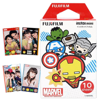 Fujifilm Instax Mini Film Marvel Hero Films Paper For Fuji Instant Photo Camera Mini 8 9 25 90 Neo Polaroid 300 Share SP-1 SP-2(Hong Kong)