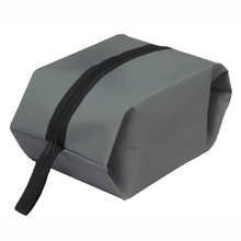 HGHO-100% Good Waterproof Travel Outdoor Home Tote Toiletries Laundry Shoe Pouch Storage Bag gray