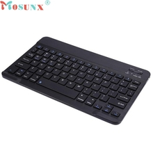 mosunx E5  Aluminum Ultra Slim Wireless Bluetooth Keyboard For Apple iPad Mac PC Macbook