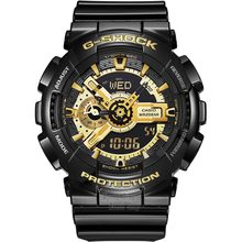 Casio watch Multi - functional earthquake - proof student movement male watch GA-110GB-1A