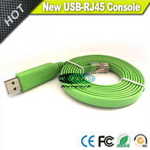 Free Shipping NEW FTDI  FT232R USB to RS232 Serial to RJ45 CAT5 Console Adapter Cable for Cisco Juniper AP
