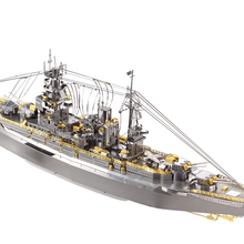 Magato Class Battleship Fun 3d Metal Diy Miniature Model Kits Puzzle Toys Children Educational Boy Splicing Science Hobby