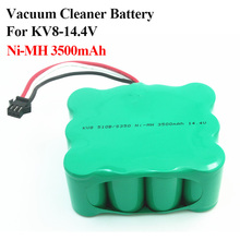 Vacuum Cleaner battery for KV8 Cleanna XR210 XR510 series 14.4V 3500mAh Ni-MH Power XR210A XR210B XR210C XR510A XR510B XR510C