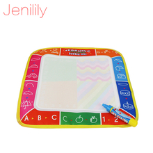Jenilily 29X29cm JN2311 4 color Water  Drawing Toys Mat Painting Mat&1 Magic Pen/Water Drawing  board/baby play mat
