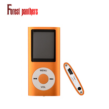 Mp3 player Music playing time 30Hours 4TH GEN PLAYER 16GB FM VIDEO 9 colors Folder Support video playback ebook game
