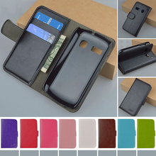 Hot Sale PU Leather Case For Alcatel One Touch POP C2 4032 4032A 4032D 4032E 4032X Cover Flip With Stand Card Slots Phone Cover