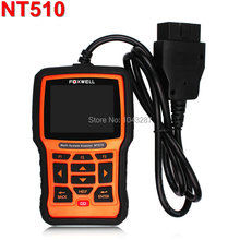 Original FOXWELL NT510 For Fiat Alfa OBD OBDI OBDII Car Diagnostic Scan Tool Multi-system Diagnostic Tool and Clear Fault Codes