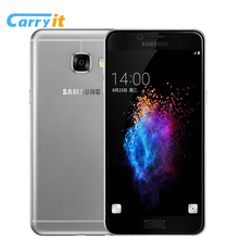 Original Samsung Galaxy C5 SM-C5000 4G 32G NFC Cell phone 5.2'' Super AMOLED FHD Screen 8 cores 4G LTE Fashion Android phone