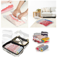 Hot Sell Compressed Vacuum Bag Hand-roll Compression Storage Bags Clothes Buggy Bag Space Saver for Business Trip and Travel