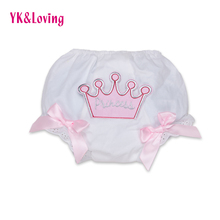 Pink Rose Red Princess Cotton Baby Bloomers Diaper Cover Tutu Ruffled Panties Birthday Cake Shorts Infant Baby Girl Bloomers