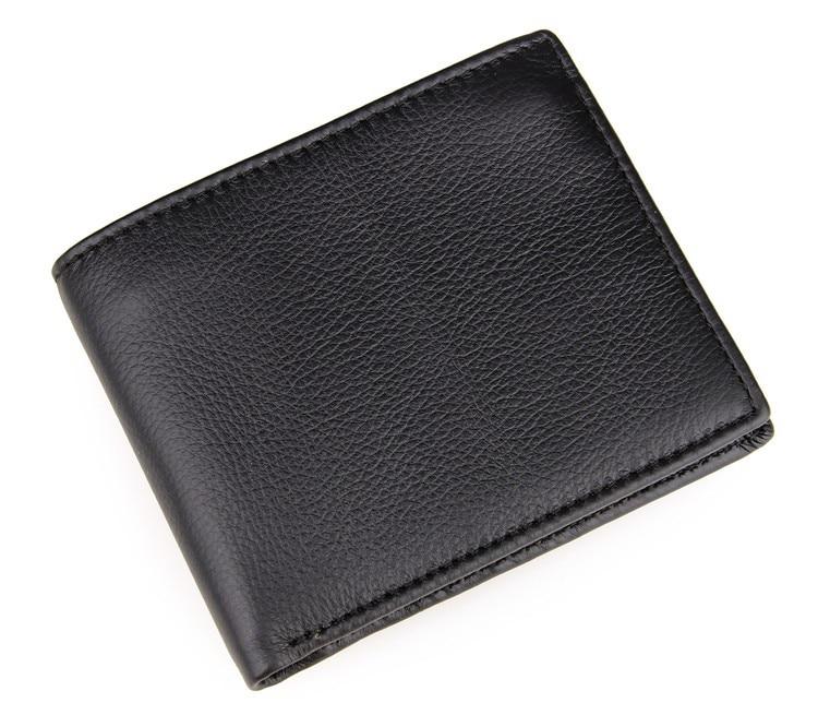8086A Low Price Hot Sale JMD Dollars Price Short Style Fold Genuine Leather Men Wallet Credit Card Holder<br>