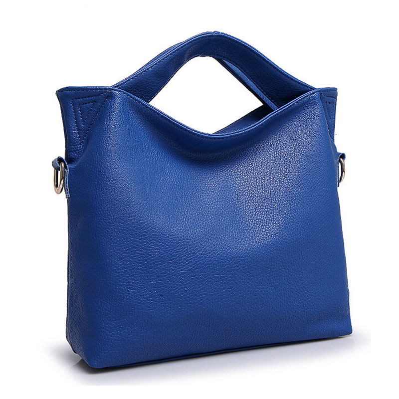 2017 Women Handbag Female PU Leather Bags Handbags Ladies Portable Blue Black Shoulder Bag Office Ladies Crossbody Bag Totes<br>