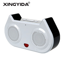 XINGYIDA Cat LED Bluetooth Speakers Wireless Stereo 3D Surround Sound Music Box Support FM Handsfree TF AUX for iPhone Android(China)