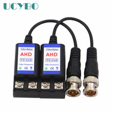 720P 1080P AHD/HD CVI/HD TVI UTP BNC video balun Cat5/5e/6  for CCTV Passive Transceivers Adapter Transmitter 600M