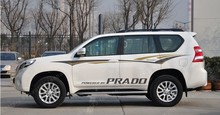 PRADO CUSTOMIZED Car Whole Body Sticker Styling Decal Decor Vinyl Covers Stickers Waterproof Accessories Sports SUV