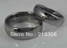 !Promotion Sales!USA Hot Selling His&Her's 8MM/6MM Silver Lord Ring Tungsten Wedding Band Set - Top Fine Jewelry World ( and retail jewelry store store)
