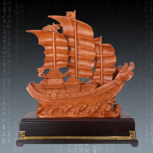 A generation of fat hot resin crafts ornaments wholesale King ornaments smooth sailing vessel Mid Gifts(China)