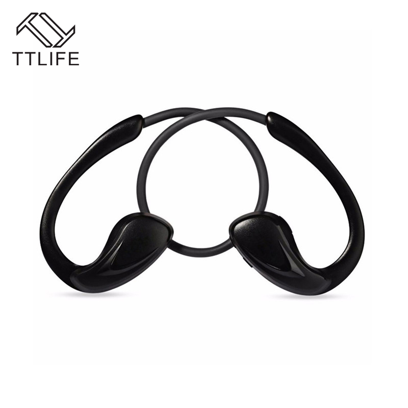 TTLIFE New A880BL Sport Wireless Headphone Bluetooth Earphones CVC6.0 Noise Cancelling Fone de ouvido With Microphone Neckband<br><br>Aliexpress
