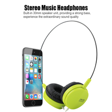 High Quality 3.5mm Headphone Music Earphone Headset Stereo For iPod Laptop MP3 MP4 PC Tablet New 2017 Wholesale P
