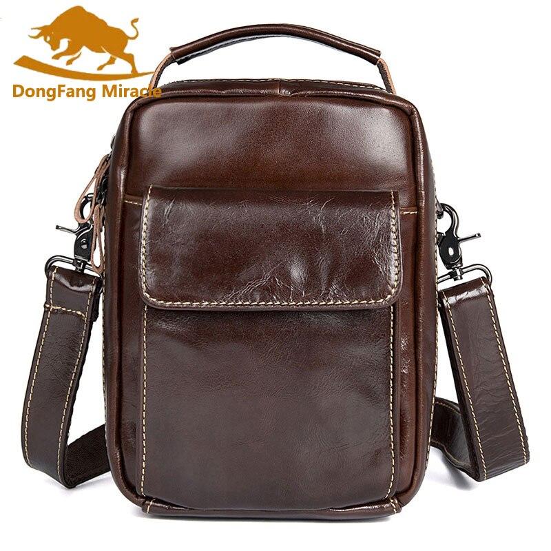 Genuine leather men bag men messenger bags small shoulder bags crossbody bag small mens leather handbag Hot sale<br>