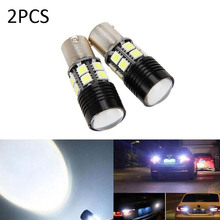 Buy Mayitr 2pcs 1156 LED Light Bulb BA15S P21W Car Canbus Error Tail Backup Reverse Lights Turn Signal Lamp for $3.49 in AliExpress store