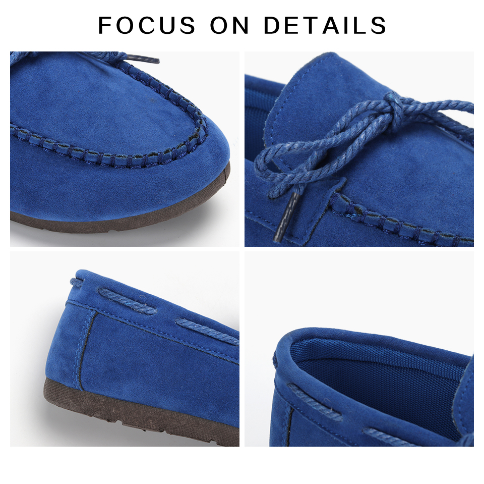 Moccasin womens four colors autumn soft brand top quality fashion suede casual loafers #WX810401 80 Online shopping Bangladesh
