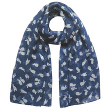 Cute Rabbit Bunny Animal Print Women's Scarf Shawl Wrap Large Size Soft Lightweight Gift Accessory
