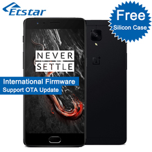Original OnePlus 3T A3010 5.5'' One Plus 3T Mobile Phone Snapdragon 821 Quad Core 6GB RAM 64GB ROM Android6.0 NFC 3400mAh