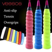 Anti-slip Breathable Sport Over Grip Sweatband Tennis Overgrips Tape Badminton Racket Grips Sweatband(China)