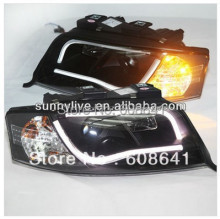 LED Head Light For Audi A6 LED head lamp 1997 - 2001 year V2 Type