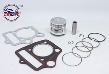 47MM Piston Rings Kit TRX90 CRF90 90cc ATV Bike Dirt Pit Bikes engine SunL Taotao Lifan ZongShen Loncin Parts(China)