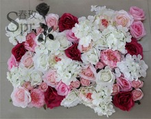 SPR 10pcs/lot mix color Artificial silk rose flower wall wedding backdrop flower road lead home market decoration free shipping