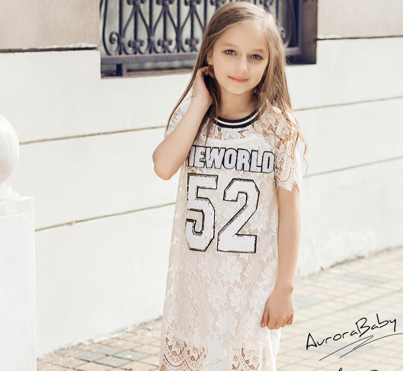 Girls Dress Lace Spring Kids Clothes Brand Children Dress New World Pattern Girls Clothing for Princess Holiday Party<br><br>Aliexpress