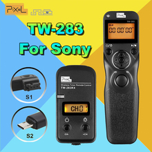 Pixel Wireless Timer Remote Control TW-283/S1 Shutter Release & Control Cable S2 For Sony A58 A7 A7R A7RII A3000 A6000 HX300