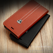 Fundas Flip Genuine Leather Mobile Phone Case For Samsung Galaxy S5 I9600 Grand Prime G530 cell Phone cover With Card slot