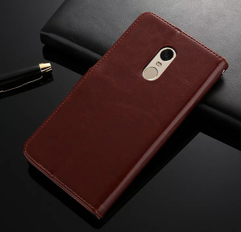 Xiaomi Redmi Note 4X Case Luxury Flip Wallet Retro Leather Cases Xiaomi Redmi Note 4 Cover Card Holder Global Version
