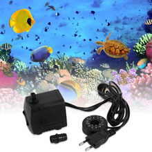 15W AC 220-240V 12 LED Submersible Water Pump For Aquarium Fountain Fish Tank Pond Decoration Led Light Water Pump New Version(China)