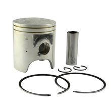 Motorcycle Piston & Rings Kit Set For YAMAHA TZR125 TZR 125 1987-92 DT125R 1988-99 R1-Z 1991-92 Bore Size 56.4mm 56.65mm 56.9mm